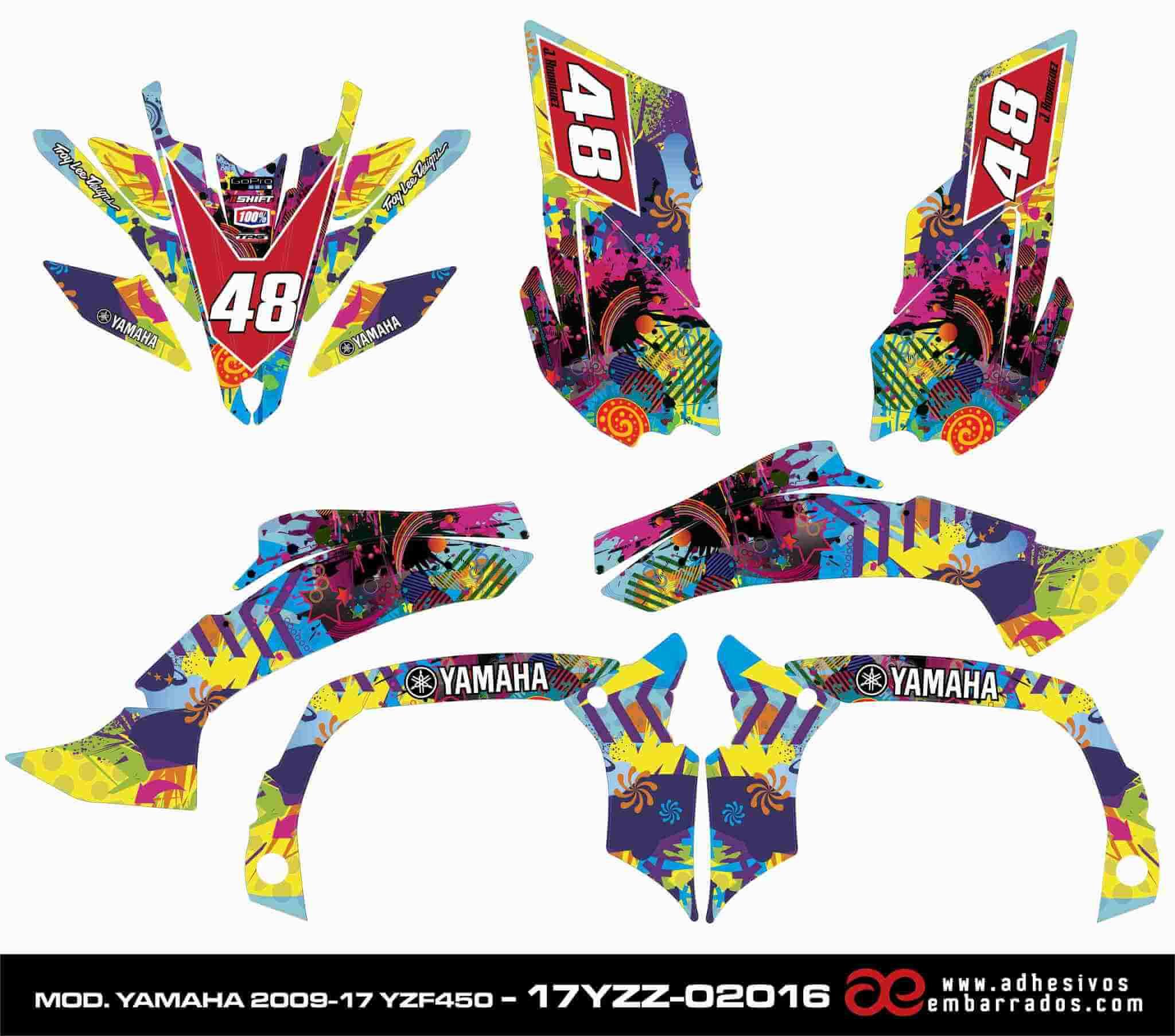 Gráficas Yamaha