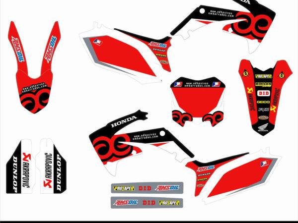Kit De Adhesivos Honda CRF 250/450 – RACING