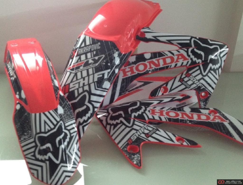 Honda 2018 Motocross Plásticos Y Adhesivos EDFA