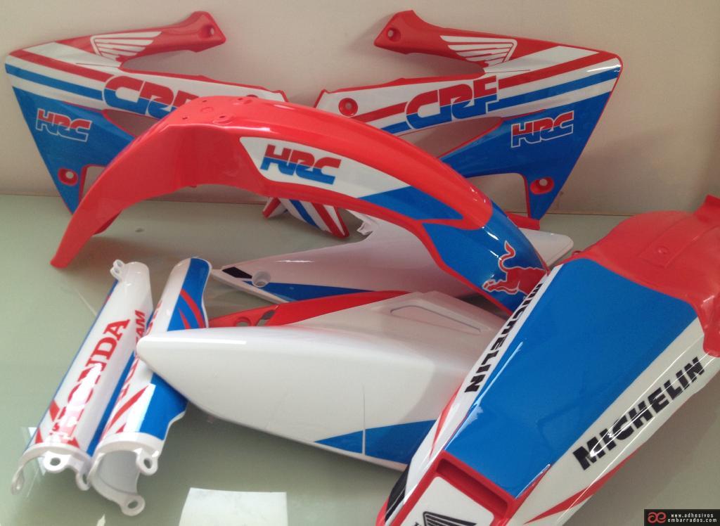 Honda 2018 Motocross Plásticos Y Adhesivos EAZSDFA