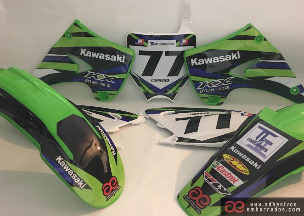 Plasticas Kawasaki 234R