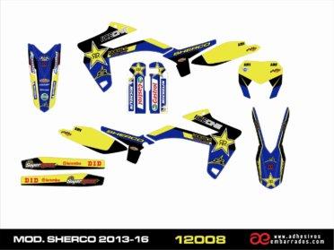 Kit De Adhesivos Sherco Año 2013-16 – ICEONE