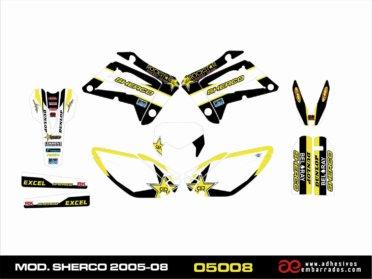 Kit De Adhesivos Para Sherco 2005-08