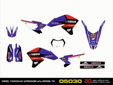 Kit De Adhesivos Yamaha WR250R – ROJA