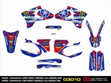 Graphics Yamaha YZF/WRF 250/450CC –