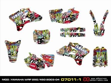 Kit De Adhesivos Yamaha WRF 250/450 – STIKERBOOM