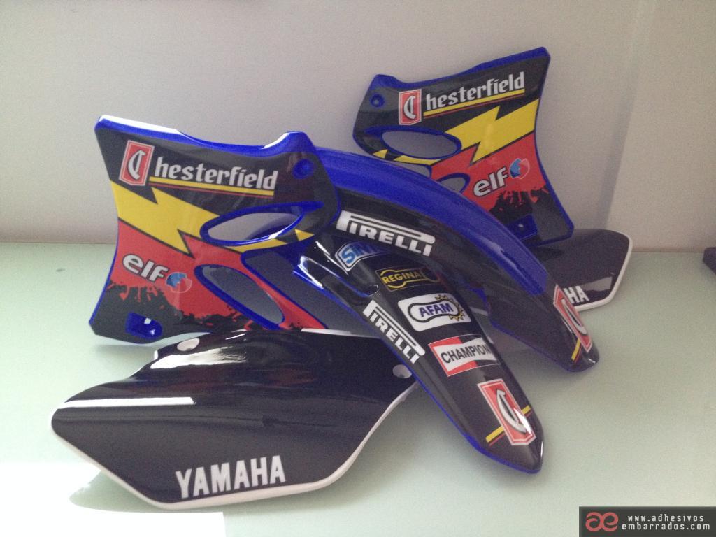 Plasticas Yamaha Yz RFAD322