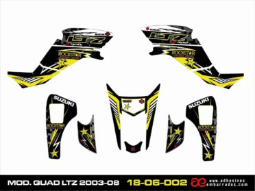 Adhesivos LTZ 400 RACING YELLOW
