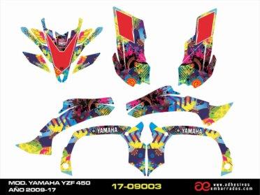 Kit De Adhesivos Yamaha YZF 450