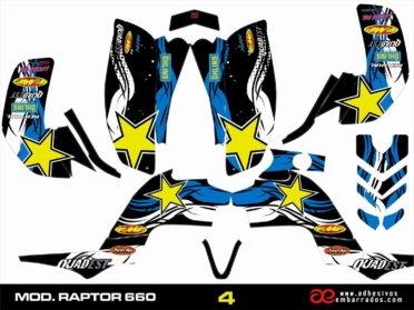 Adhesivos Quad RAPTOR 660