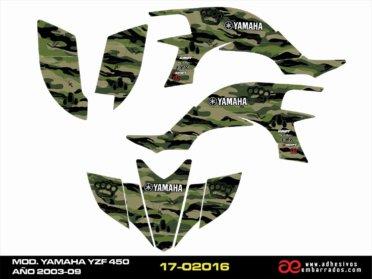 Kit De Adhesivos Yamaha YZF 450 – CARBURACION