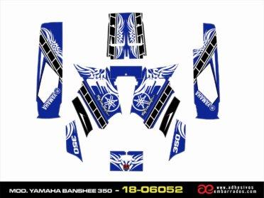 Kit De Pegatinas Yamaha BANSHEE 350
