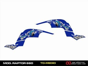 Kit De Adhesivos Yamaha RAPTOR 660 – Deposito