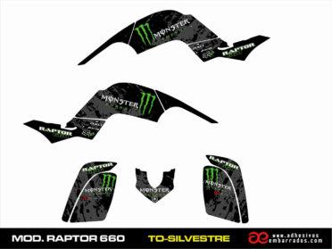 Kit De Adhesivos Yamaha RAPTOR 660