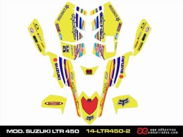 Adhesivos Suzuki LTR 450
