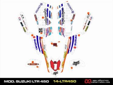 Kit De Adhesivos Suzuki LTR 450