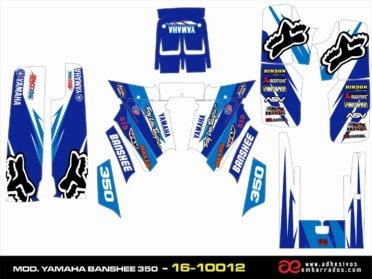 Kit De Adhesivos Yamaha BANSHEE 350 – Blue Ampliado