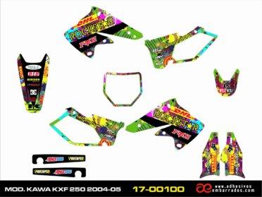 Adhesivos Kawasaki KXF 250 2004/05