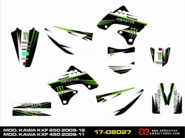 Graficos Kawasaki KXF 250/450cc
