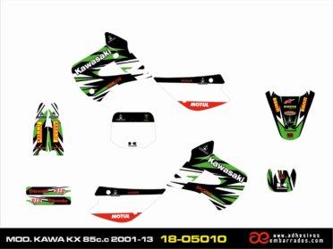 ADHESIVOS Kawasaki KX 85CC 2001-13