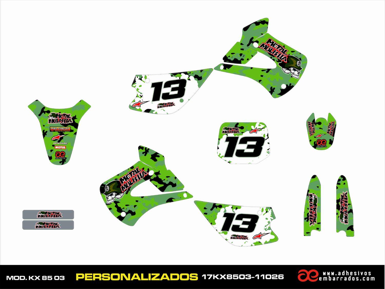 KX 85 2001-2013