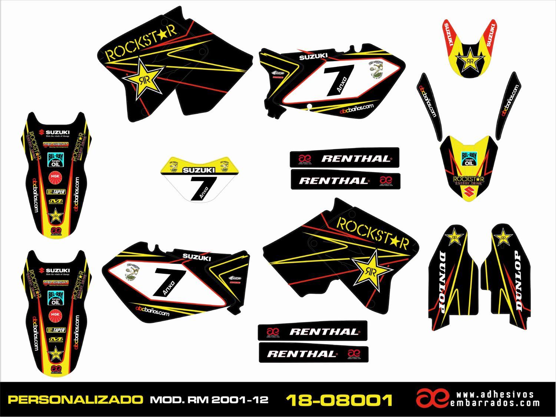 RM 125-250cc 2001-2012