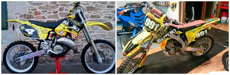 kit de pegatinas personalizadas para moto