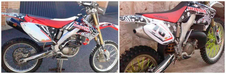 pegatinas personalizadas motocross