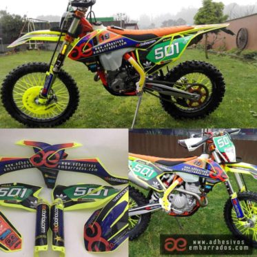 kit adhesivos personalizados moto