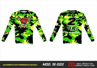 Camiseta Enduro Personalizada  MX-19-022