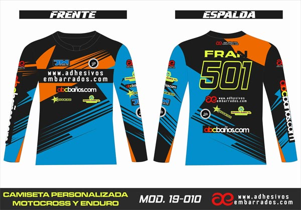 CAMISETA ENDURO MX
