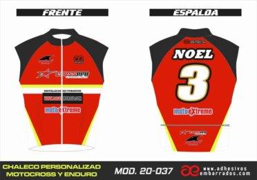 Chaleco Enduro Personalizado Mx – 037
