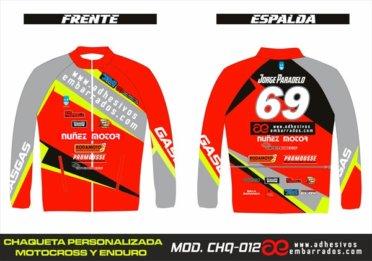 Chaqueta Enduro Personalizado 012
