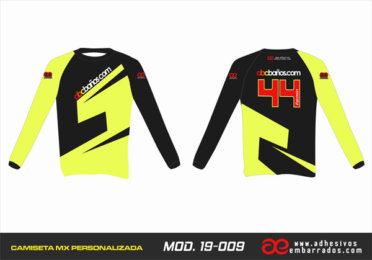 Camiseta Enduro Personalizada  MX-19-009
