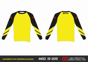 Camiseta Enduro Personalizada  MX-19-005