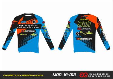 Camiseta Enduro Personalizada  MX-19-013
