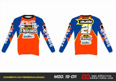 Camiseta Enduro Personalizada  MX-19-011