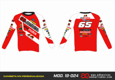 Camiseta Enduro Personalizada  MX-19-024