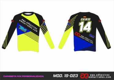 Camiseta Enduro Personalizada  MX-19-023