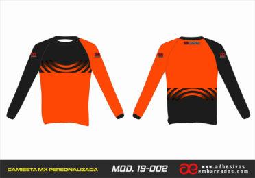 Camiseta Enduro Personalizada  MX-19-002