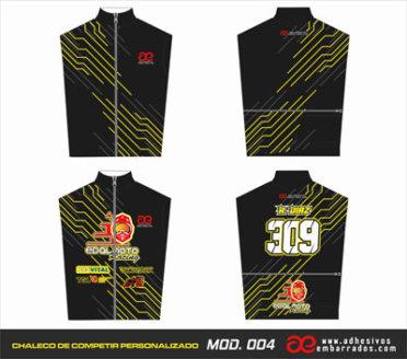 Chaleco Enduro Personalizado Mx – 004