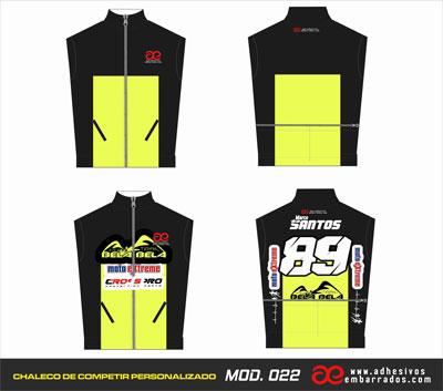 chalecos de motocross personalizados