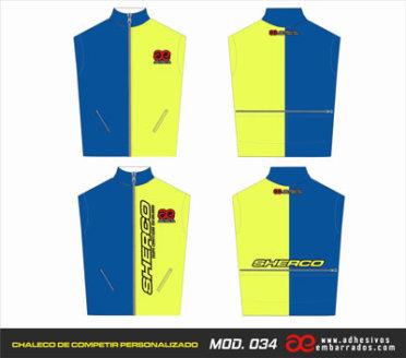 Chaleco Enduro Personalizado Mx – 034