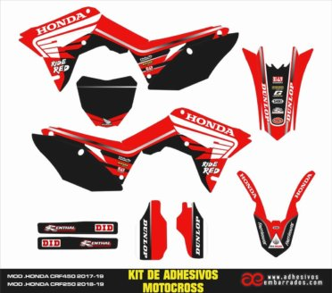 GRAPHICS HONDA CRF 450cc 2019