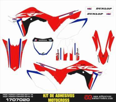 GRAPHICS HONDA CRF MX 2019