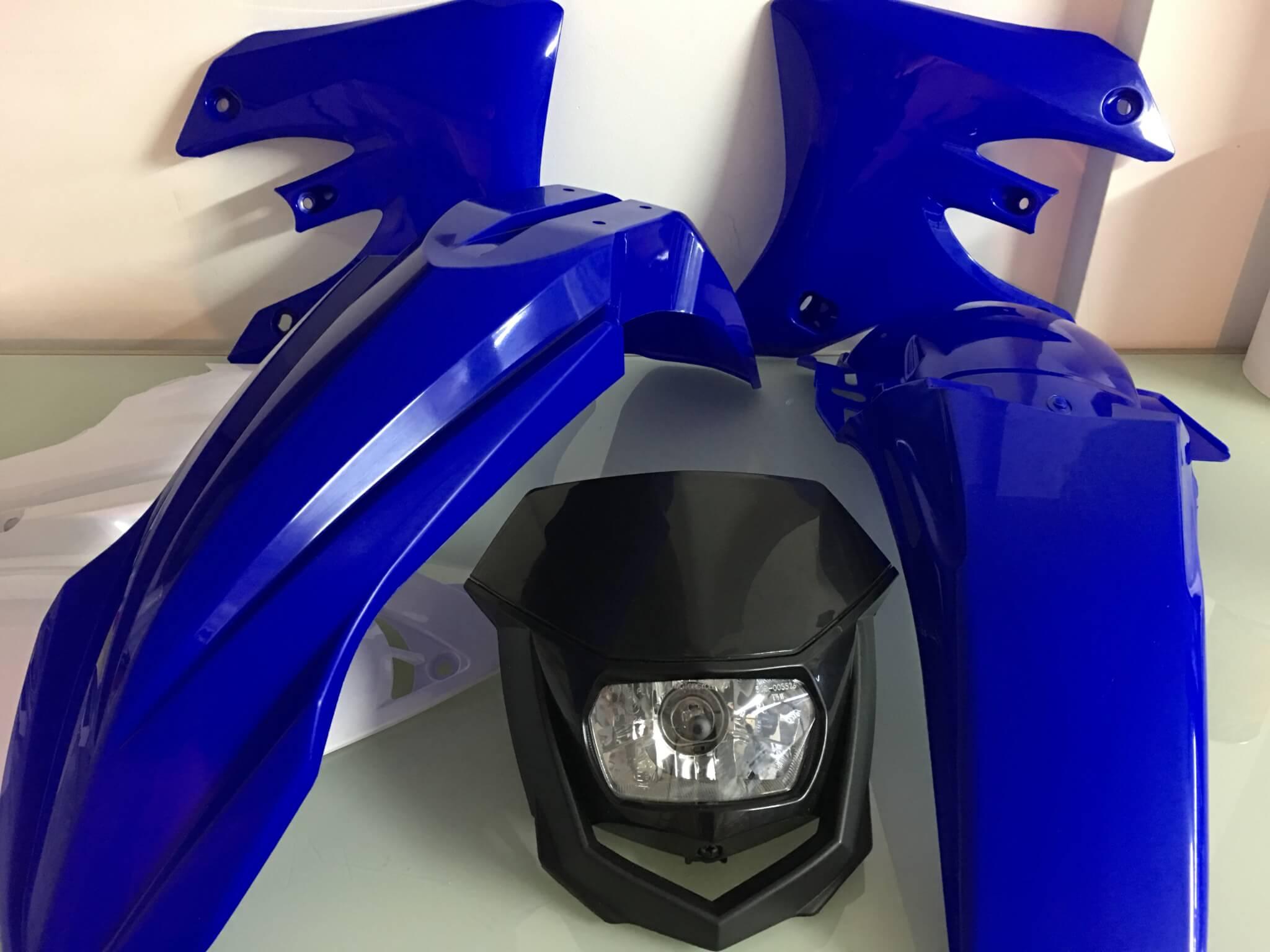 Kit De Plásticos Yamaha Wrf