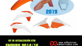 Kit De Actualización KTM Exc 2014/2016 Con Plástica Polisport