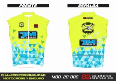 Chaleco Enduro Personalizado Mx – 006