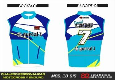 Chaleco Enduro Personalizado Mx – 015