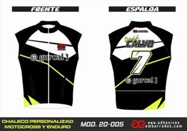 Chaleco Enduro Personalizado Mx – 005
